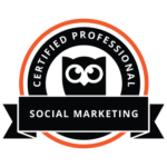 Hootsuite Certification Badge - Social Marketing Certified Professional