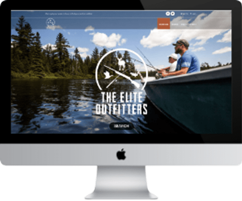 The Elite Outfitters Website Graphic