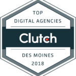 Top Digital Agencies 2018 by Clutch, Des Moines