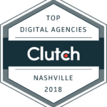 Top Digital Agencies 2018 by Clutch, Nashville