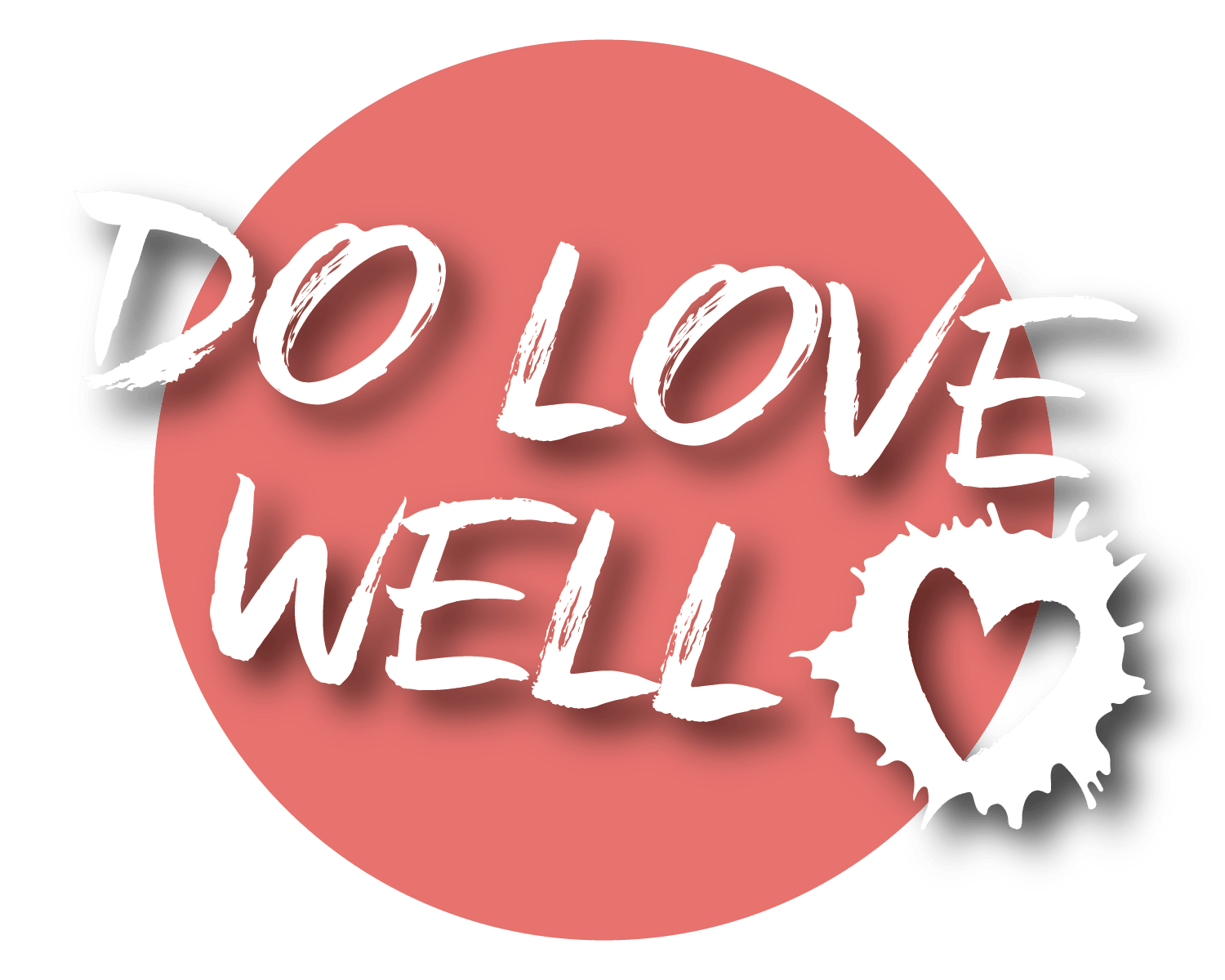 """Do Love Well"" - HPMG Giving Initiative Logo"